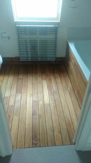 Bathroom Panaget Teak  The Flooring Group