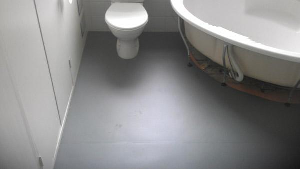 Bathroom Rubber Floor  The Flooring Group