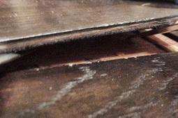 Delaminated Flooring