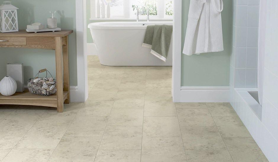 bathroom floors - the flooring lady