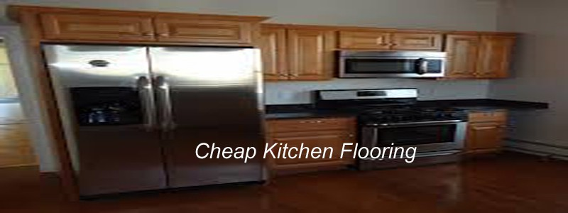 cheap kitchen flooring