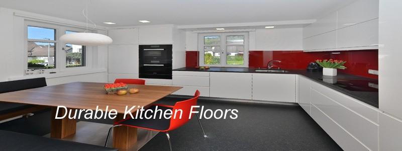 Durable Kitchen Flooring  Design Decoration