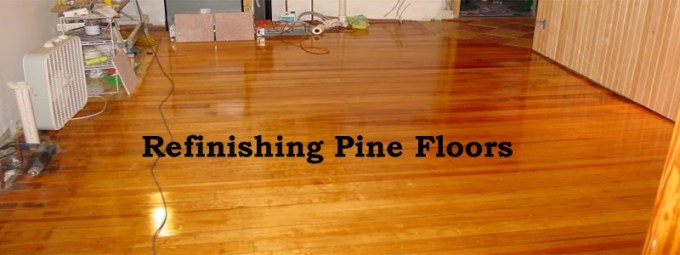 How to refinish pine wood floors yourself wikizie refinishing hardwood pine flooring a how to diy guide solutioingenieria Gallery