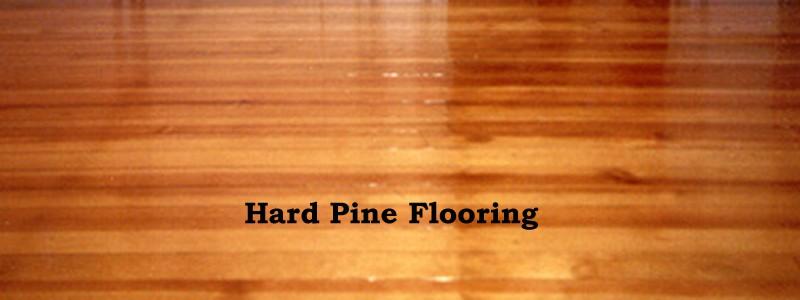 hard pine flooring