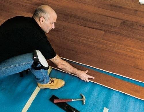 Alternative Method of Flooring Installing
