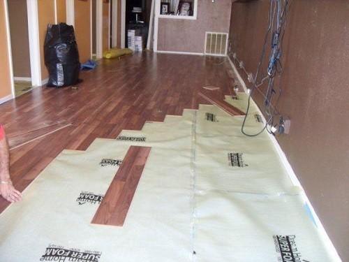 DIY Installation of Laminate Flooring