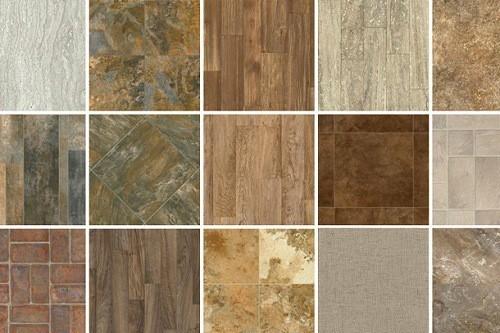 Various Types of Vinyl Flooring