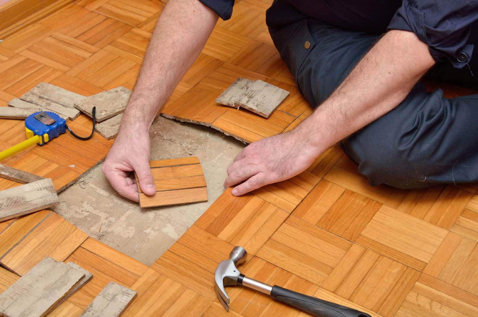 Wood Floor Glue