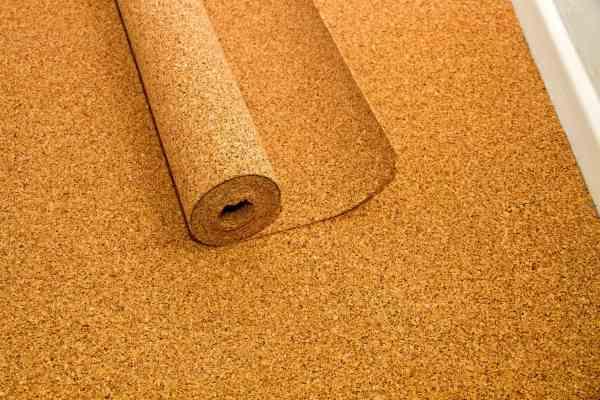 Floating Cork Floor Tiles