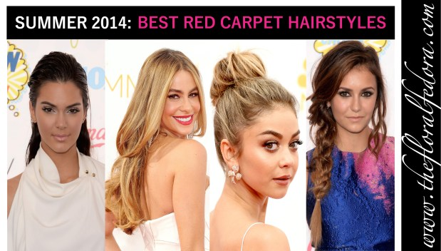 Celebrity Red Carpet Summer Hairstyles