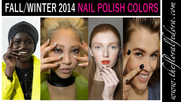 Fall/Winter 2014 Nail Polish Colors
