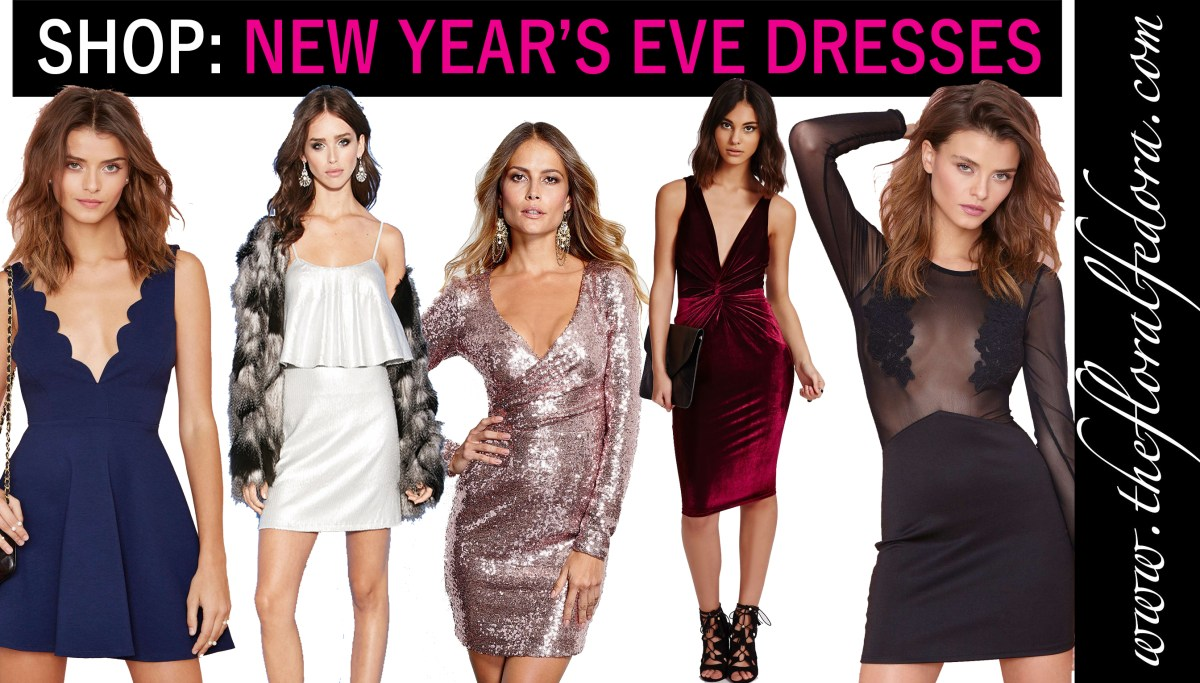 Shop: New Year's Eve Dresses!