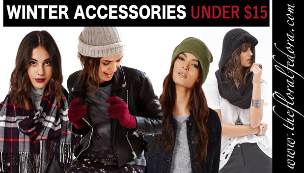 Winter Accessories Under $15