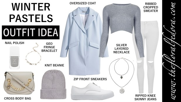 Outfit Idea: Winter Pastels