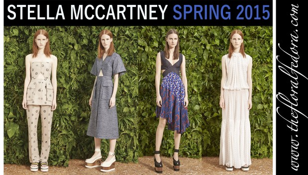 Stella McCartney Ready to Wear Spring 2015 Collection