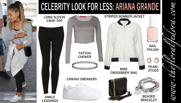 Celebrity Look for Less: Ariana Grande