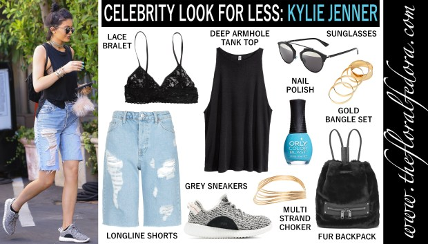Celebrity Look for Less: Kylie Jenner
