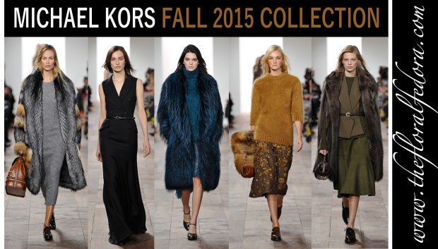 Michael Kors Ready to Wear Fall 2015 Collection