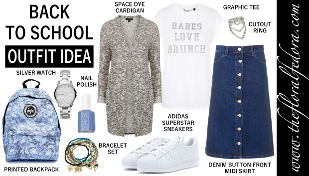 Outfit Idea: Back to School