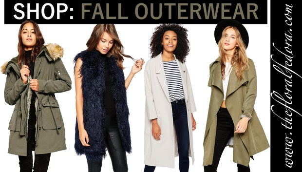 Shop: Fall Outerwear