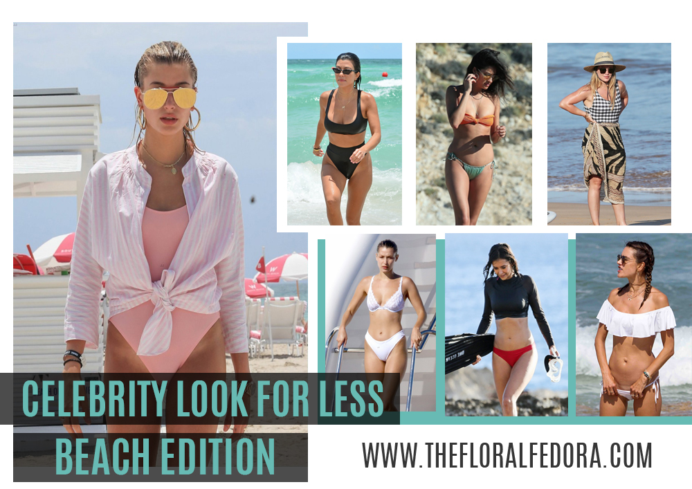 Celebrity Look for Less: Beach Edition