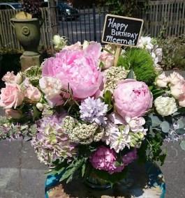 00001Happy Birthday Flower Bouquet Charlotte NC