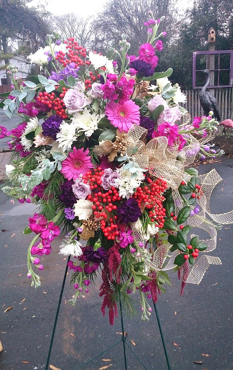 Sympathy Arrangement by The Flower Diva Charlotte