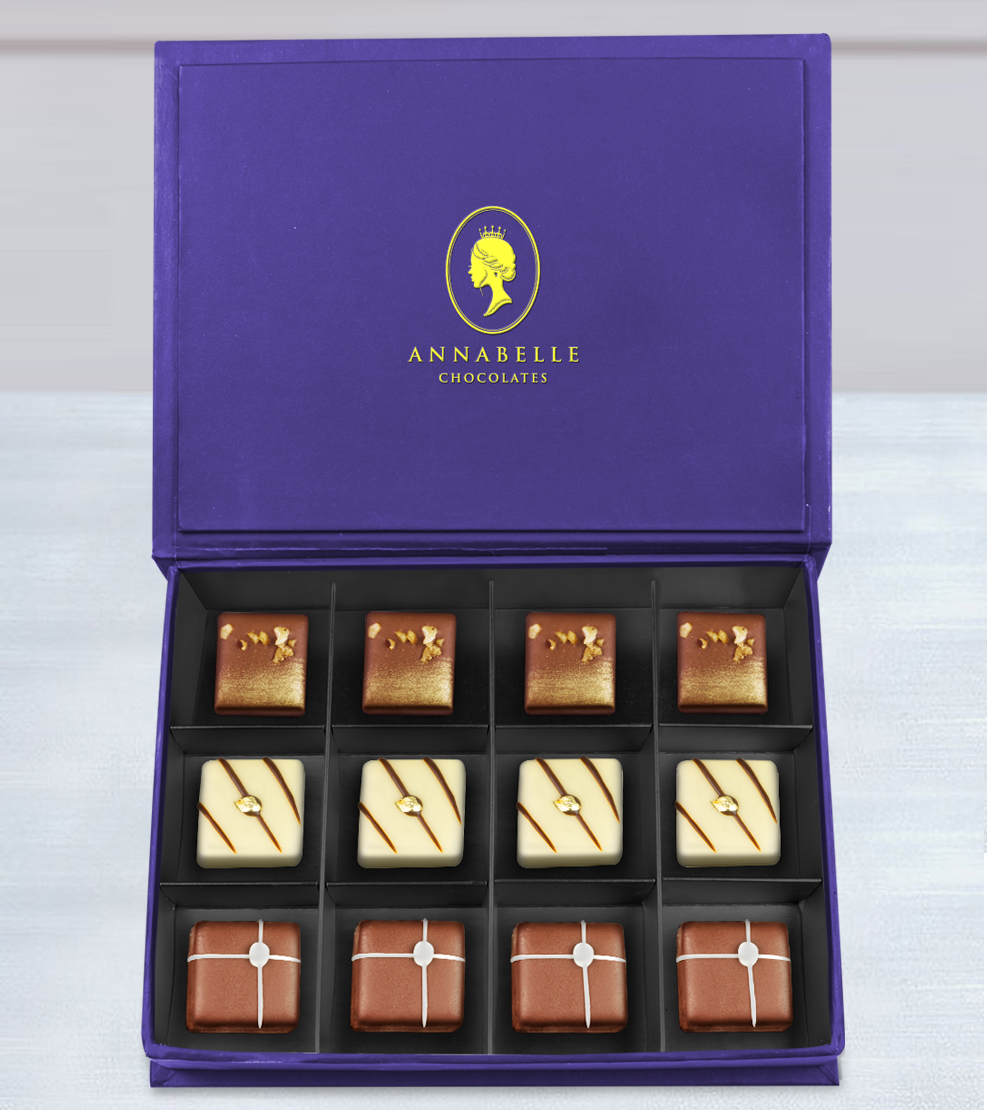 Divine Assortment Chocolate Box By Annabelle Chocolates