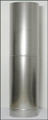 Flue 600mm SS