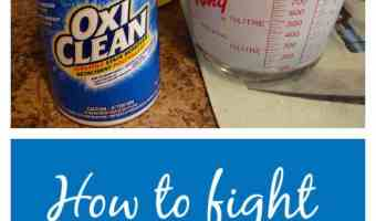 How to fight stains with OxiClean #WowOxiClean