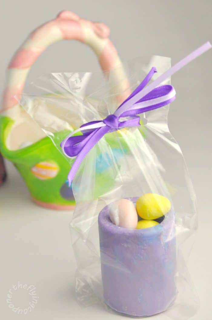 Easter Chocolate Shot Glasses. Easter baskets. The Flying Couponer.
