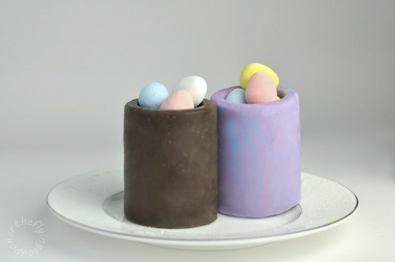 Easter Chocolate Shot Glasses. Easter recipes. The Flying Couponer.