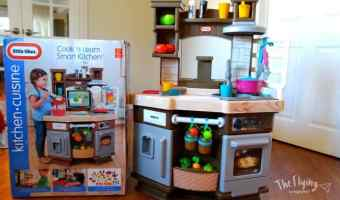 Little Tikes Cook 'n Learn Smart Kitchen & Giveaway