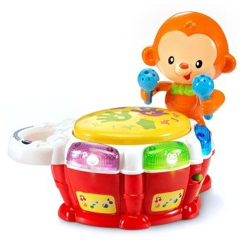 Baby Beats Monkey Drum. Baby Toys. The Flying Couponer.