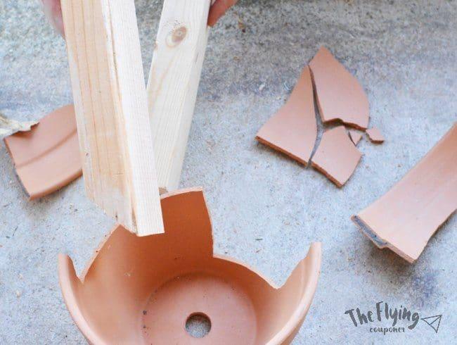 DIY Easy Fairy Garden. The Flying Couponer.