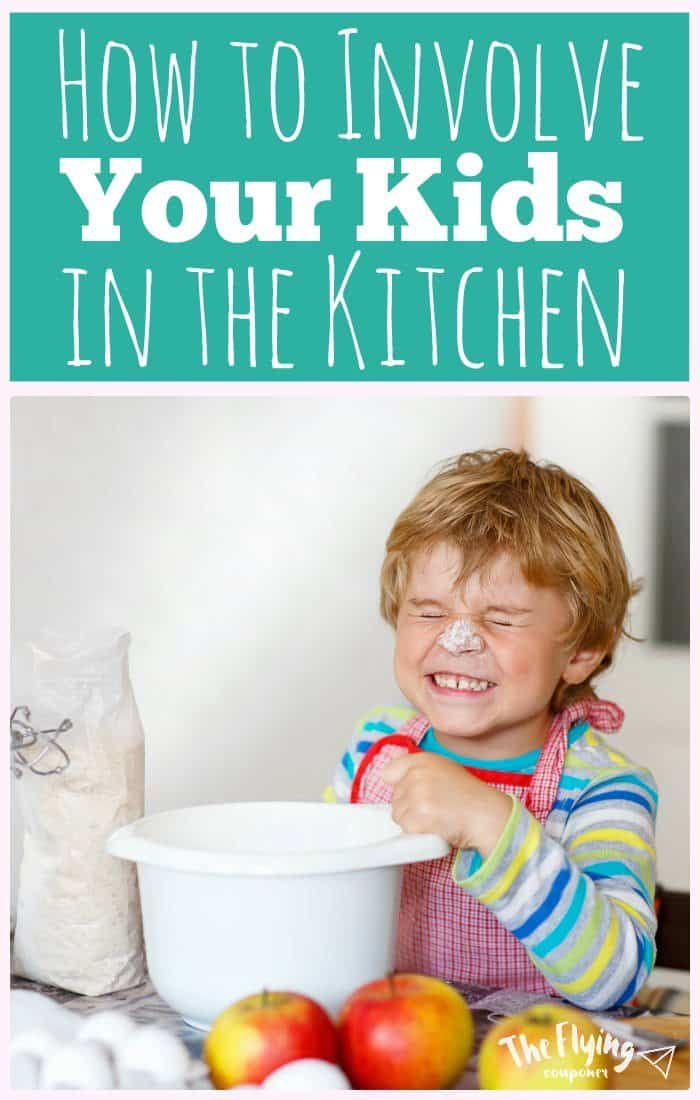 How to Involve your Kids in the Kitchen