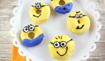 Despicable Me Minion Donuts
