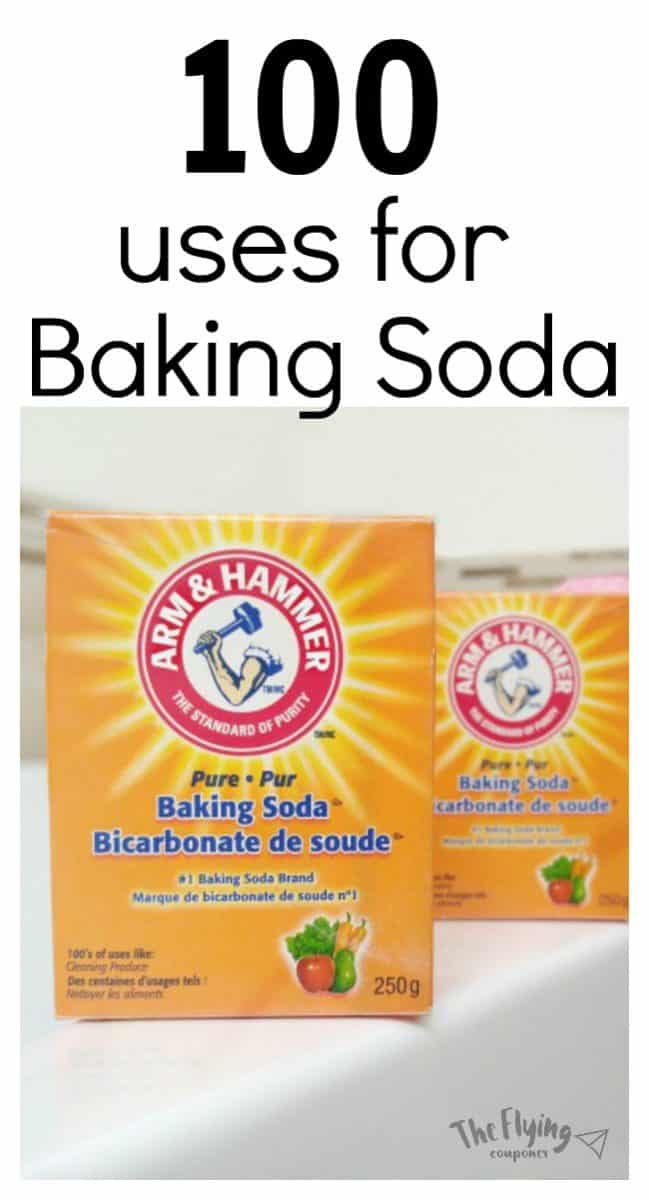 100 uses for baking soda