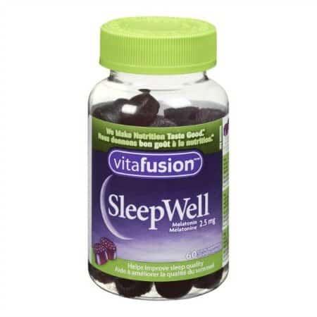 Vitafusion SleepWell Helping Canadians get a quality night's sleep.