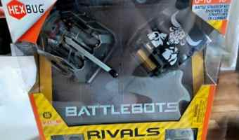 Hexbug BattleBots Rivals Beta and Minotaur Battle Strategy Kit