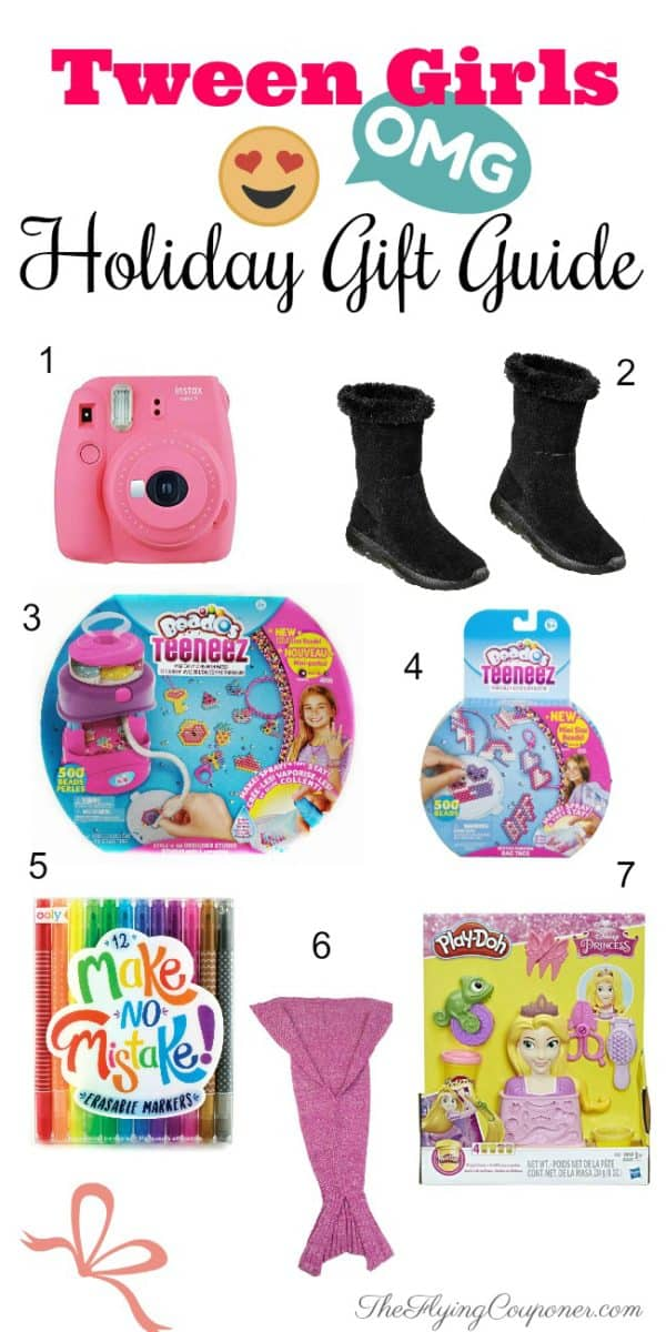 Holiday Gift Ideas for Tween Girls