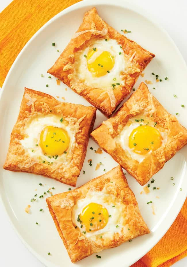 Air Fryer: Breakfast Puffed Egg Tarts