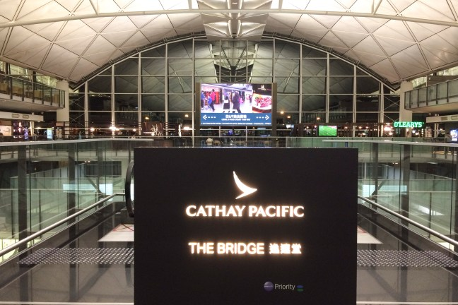 Cathay Pacific The Bridge HKG
