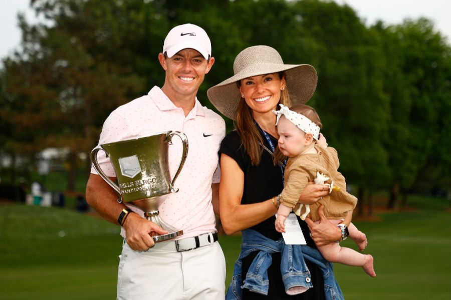 Does Rory McIlroy have children? How many does he have?