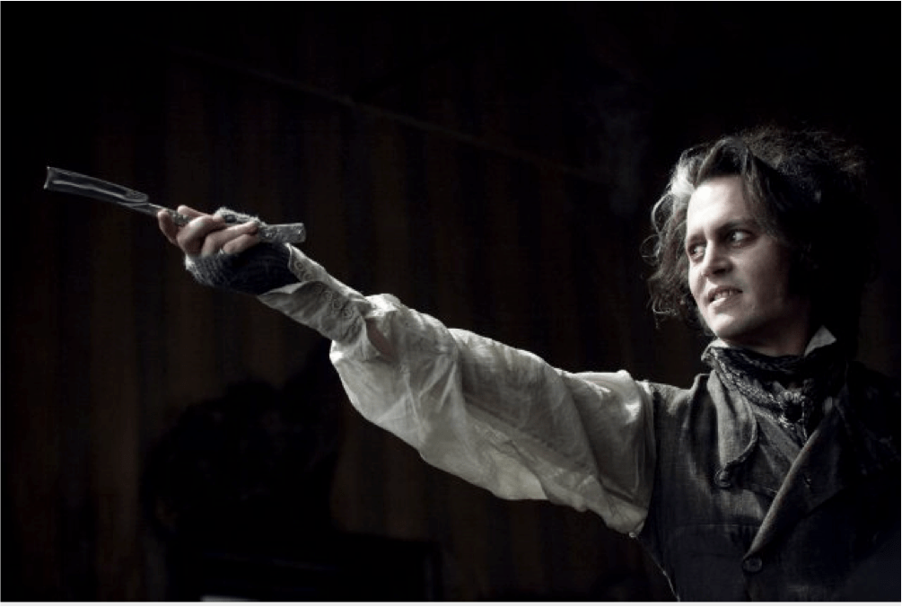 Johnny Depp Sweeney Todd Plot