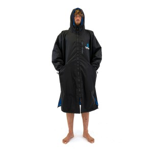 Surf Logic Storm Robe Long Sleeve black