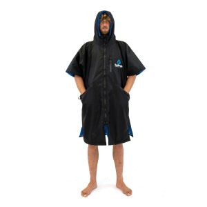 Surf Logic Storm Robe Short Sleeve black