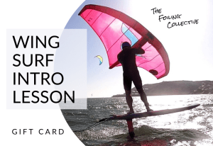 gift card 5 wing surf lesson