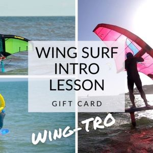 WING SURF INTRO lesson gift card