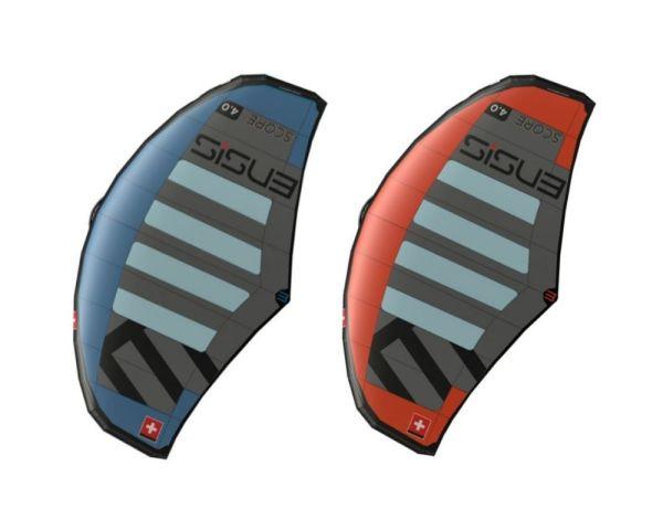 ENSIS Score wings in blue or orange